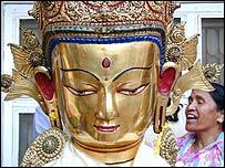 Se cree que Buda nació en Lumbini, en el sur de Nepal.