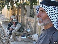 Soldados de EE.UU. en Irak
