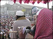 Anti-Ahmadiyya rally in Dhaka, Bangladesh