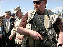 Blackwater bodyguards protected ex-US civilian head Paul Bremer