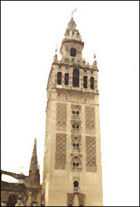 Resultado de imagen de GIRALDA AL FONDO.