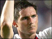 Frank  Lampard, scorer of the extra time equalizer