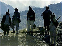 Mujahideen fighters