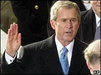 George W Bush - linked from BBC News website