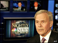 Retired NBC news presenter Tom Brokaw, 2004