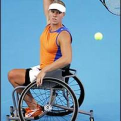 Wheelchair Quad White Task Chairs Without Arms Bbc Sport Tennis Get Involved What Is Esther Vergeer