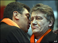 Boris Nemtsov and Viktor Yushchenko