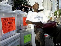 liberian election ballots