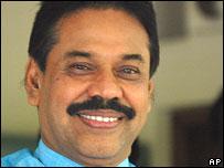 Sri Lankan president