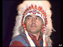 National Chief of the Assembly of First Nations Phil Fontaine