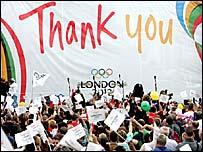 London wins 2012 Olympics!