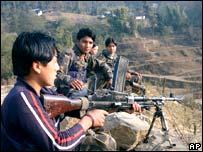 Nepali Maoist rebels