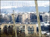 Tskhinvali skyline