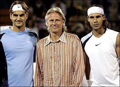 Federer, Borg, & Nadal