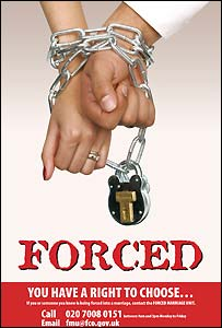 Forced Marriage Unit poster