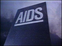 Tombstone - the 1980s Aids awareness campaign