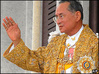 Thai king, June 2006