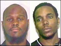Narseal Batiste (l) and Stanley Grant Phanor, two of those charged