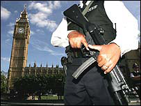 Policeman at Westminster