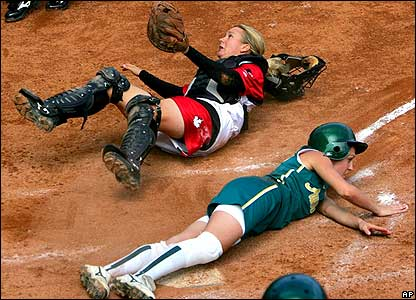 Not at all what my first day at softball looked like