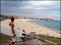 Uno de los atractivos de Sydney son sus playas suburbanas.