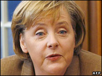 Angela Merkel, Germany's first female chancellor