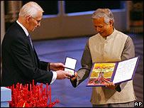Muhammad Yunus, Premio Nobel de la Paz 2006