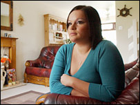 Pc Rachael Bown at home