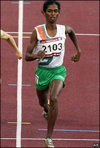 Santhi Soundararajan at the Asian Games, Doha