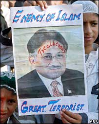 Musharraf's headache