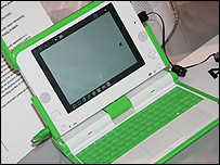 One Laptop Per Child machine