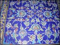 Isfahan tile work