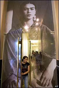 Frida Kahlo, exhibición en México