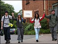 Student marchers