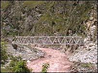 El puente será finalizado en febrero.