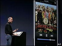 El presidente de Apple Inc Steve Jobs ganó un caso en Londres el año pasado.