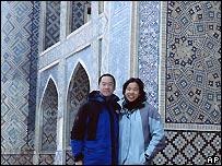 Peter Lu se interesó en el tema mientras viajaba por Asia Central