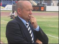 Botswana coach Colwyn Rowe