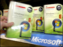 Windows Vista on sale, PA