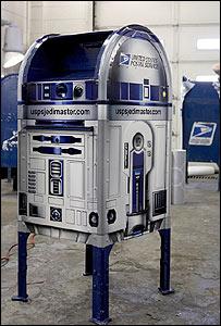 R2-D2 postbox