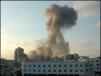 Israeli bombing in Tyre