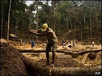 La amazona brasileña ha sufrido una acelerada deforestación en los últimos años.