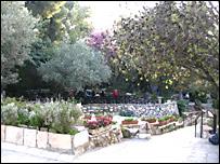 Este jard�n es sagrado para muchos cristianos que creen que aqu� fue enterrado Jesús antes de resucitar.