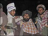 Taleban fighters in Zabul
