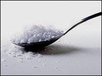 teaspoon of salt