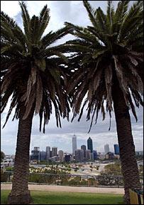 Perth skyline, BBC