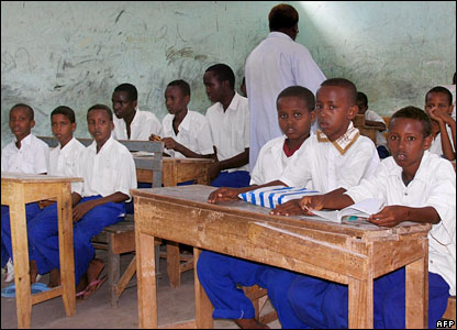 School children in Somalia