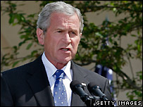 US President George W Bush - 24/05/2007
