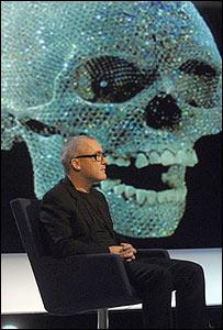 Hirst dijo que a él no le molestar�a que después de muerto hicieran lo mismo con su cráneo.