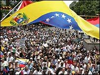 Marcha en contra del cierre de RCTV, este domingo en Caracas